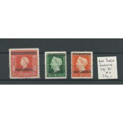 Ned. Indie 359-361 Wilhelmina MNH/postfris CV 340 €