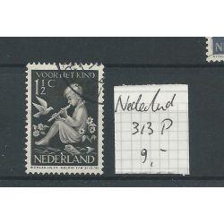 Nederland 313P VFU/gebr CV 9 €