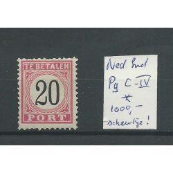 Ned Indie P9V-IV MH/ongebr CV 1000 € lees