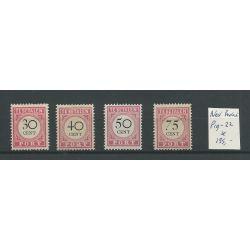 Ned Indie P19-22 Port 1892 MH/ongebr CV 135 €