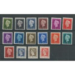 Nederland 474-489 Wilhelmina MNH/postfris CV 168€