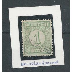 "Nederland 31 ""HEINKESZAND"" VFU/gebr CV 10 €"