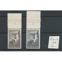 Nederland LP12-13 Meeuwen Luchtpost MNH/postfris CV 600 €