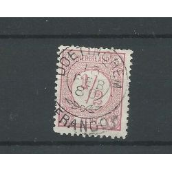"""Nederland 30 """"DOETINCHEM 1880"""" franco-takje VFU/gebr CV 30 €"""