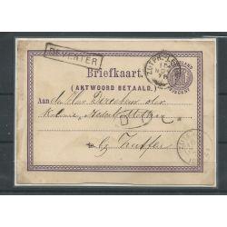 Nederland Briefkaart Trein Deventer -Zutphen CV 20++ €