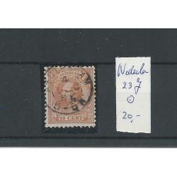 Nederland 23J 11,5x12 gr.gt. VFU/gebr CV 23 €