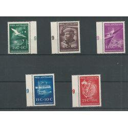 Ned. Antillen 239-243 Zeemanswelvaren MNH/postfris CV 75 €