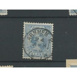 "Kleinrond ""ARNHEM-2 1896"" op 35 VFU/gebr"