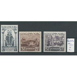 Luxemburg 312-314 MH/ongebr CV 30 €
