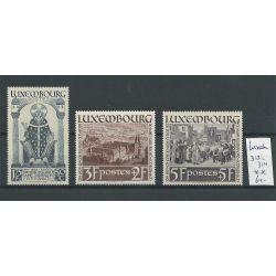 Luxemburg 312-314 MNH/postfris CV 64 €