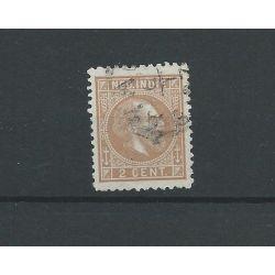 Ned. Indie 6G Willem III 1870 VFU/gebr CV 40 €