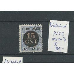 Nederland PV2C 11,5x11,5 Postpakketverreken VFU/gebr CV 90 €