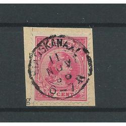 "Nederland 37 met ""STADSKANAAL 1898 "" VFU/gebr CV 7 €"