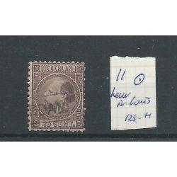 Nederland 11 Willem III 1867 CV 200 € keurstempeltje Dr. Louis