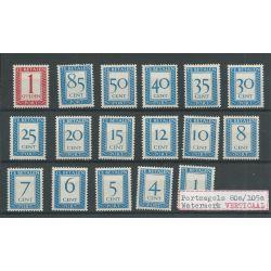 Nederland P80a-P105a Vertikaal wm MNH/postfris CV 220 €